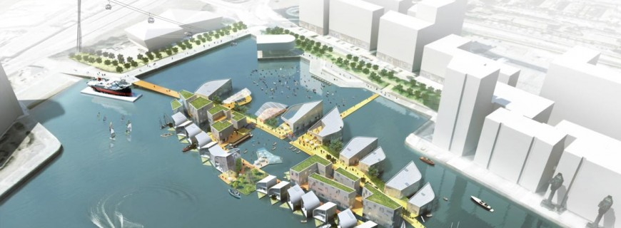 Boris Johnson unveils East London 'floating village' plans, faces opposition from Newham Council